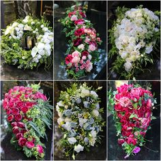 Fall Flowers, Wedding Flowers, Grave Decorations, Cemetery Flowers, Deco Floral, Romantic Weddings, Ikebana, Funeral, Floral Arrangements