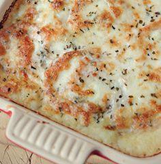 Mozzarella and Mash Pie