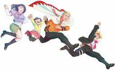 Anime Naruto, Naruto Y Hinata, Naruto Gaiden, Naruto Cute, Naruto Shippuden Anime, Hinata Hyuga, Naruko Uzumaki, Naruhina, Yamanaka Inojin