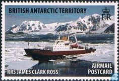 Postage Stamps - British Antarctic Territory - Research ships