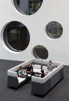 zenith interiors: gather around modular lounge | ea fitout