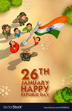 illustration of Indian people saluting flag of India with pride on Happy Republic Day Republic Day Images Pictures, Republic Day Photos, Republic Day Indian, Independence Day Images Download, Happy Independence Day India, Indian Flag Wallpaper, Army Wallpaper, National Flag India, Indian Flag Images