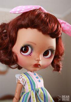 OOAK Custom Blythe Art Doll Vivian by Dear by deargirlface on Etsy