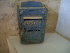 vintage french letter box