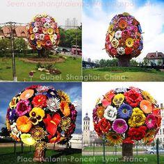 Lyon Frace shopping | ... The Gubei Road Shanghai big tree flower sculpture is in Lyon France