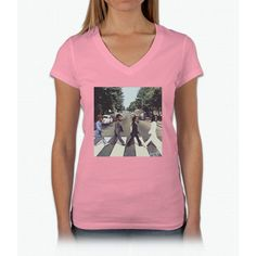 Migos Abbey Road Art Womens V-Neck T-Shirt