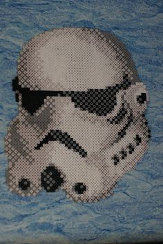 Stormtrooper - Star Wars perler bead sprite by Nicolel12 on deviantart