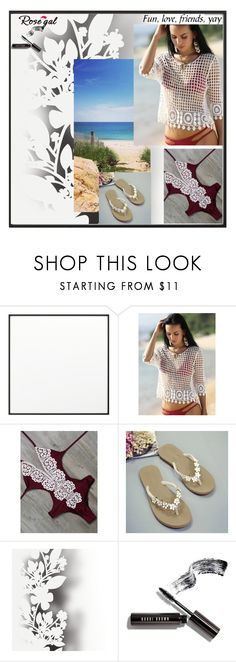 """""""Rosegal 23"""" by dilruha ❤ liked on Polyvore featuring By Lassen, Élitis and Bobbi Brown Cosmetics"""