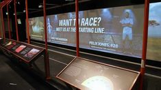 Behind-The-Scenes: Perot Museum Sports Run Exhibit
