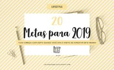 20 Metas para 2019 - Feliz Ano Novo! Presets Do Lightroom, Lightroom Gratis, Presents, Apps, Smile, Random, Free, Outfits, Calendar Ideas