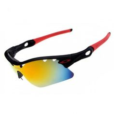 160babc7fc Oakley Radarlock Pitch Sunglasses Matte Red Black Frame Jade Iridium Lens  Discount Ray Ban Sunglasses