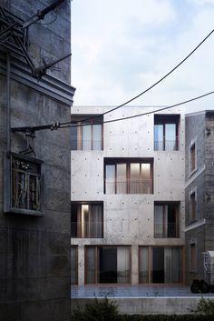 Student Housing at the École Nationale de la Magistrature in Bourdeaux, France - Nadau Lavergne Architectures
