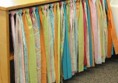 No Sew Table Skirt Tutorial - Differentiated Kindergarten