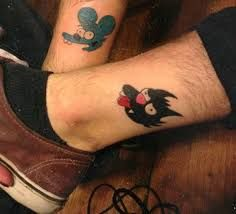 Image result for bart simpson tattoo