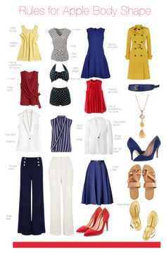 Rules for Apple Body Shape by pinkrubbersoul on Polyvore featuring Laltramoda, H&M, Jane Norman, Les Hommes, Karl Lagerfeld, Jaeger, Vionnet, Ted Baker, Topshop and Kinross