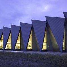 Switchgear Stations  by C. F. Møller