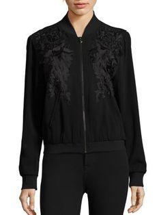 KOBI HALPERIN Karine Embroidered Jacket. #kobihalperin #cloth #jacket