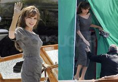 Pictures of Angelina Jolie Filming The Tourist in Venice