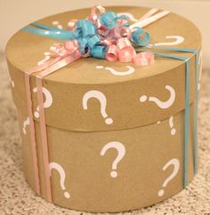gender reveal party ideas | She went with a pink and blue owl theme, so I knew I had to give her ...