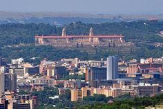 Union Building overlooking Arcadia suburb in Pretoria Apartheid Museum, Sa Tourism, Port Elizabeth, Kruger National Park, Pretoria, Africa Travel, Best Cities, Countries Of The World, Aerial View