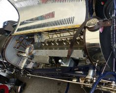 059 Bugatti Type 59 1933 blue detail engine | Flickr - Photo Sharing!