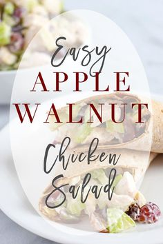 Quick and Easy Homemade Chicken Salad - Quick and Easy Recipes for Lunch or Dinner!