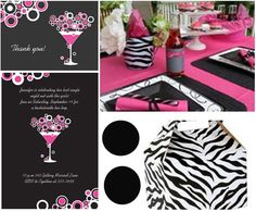 zebra gable boxes - possibly for packed lunch or favors