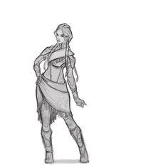 Daily #character #sketch #art - - - - #conceptart #drawing #digitalart #dailysketch #ibralui #artwork #sketchoftheday #creature #creaturedesign #fantasy #characterdesign #picoftheday #sketch_dailies