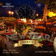 Jive your way into the New Year! An exciting party awaits you in the city of Jhansi. Hurry up, reservations limited. To reserve your table, call 0510 233 0800