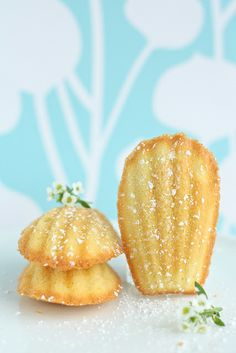 Lemon and Brown Butter Madeleines by sweetcakesbakeshop, via Flickr