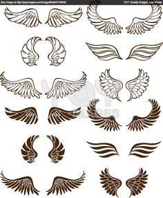 Royalty Free Vector of Angel Wings