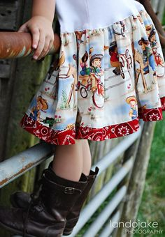 vintage cowgirl tank dress