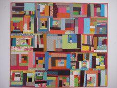 Denyse Schmidt - improvisational quilt