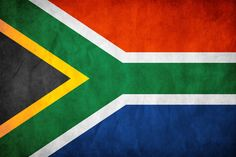 South Africa Flag by think0