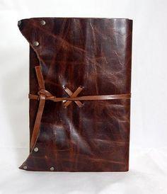 Spellbinding Journals - Diggit Victoria Leather Bound Journal, Small Journal, Leather Cover, Journals, Victoria, Handmade, Crafts, Venetian, Christmas Gifts