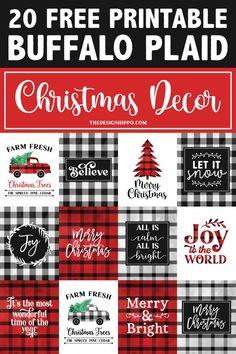 Fresh Christmas Trees, Plaid Christmas, Christmas Crafts, Christmas Decorations, Merry Christmas, Christmas Ideas, Xmas, Christmas Things, Crochet Christmas