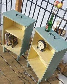 Você nunca mais vai ver gavetas antigas da mesma forma depois destes exemplos Peças que seriam descartadas podem se tornar elementos de decoração