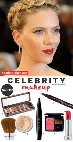 Scarlett Johansson Cat Eyes Make up Naked 2 - Makeup Tutorial