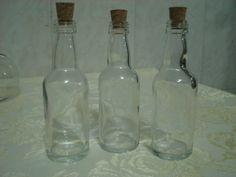 Garrafinhas de vidro de 50 ml com rolha,para lembrancinhas, personalização, R$ 1,80
