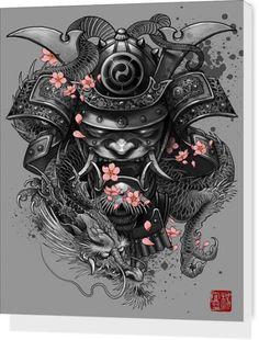Samurai Dragon by Elvin yong |