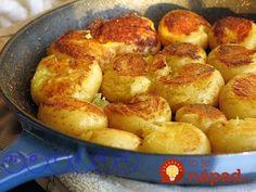 Mladé zemiaky jednoducho milujem na všetky spôsoby. Vyskúšajte skvelý tip, ako ich pripraviť dochrumkava aj bez pečenia či vyprážania. Sú fantastické! :-)