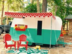 Awning for Vintage Camper ***Please read entire ad*** Retro Campers, Camper Trailers, Vintage Campers, Vintage Caravans, Vintage Motorhome, Retro Trailers, Old Campers, Vintage Glam, Camping Vintage