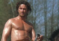 Permission to drool over the young Gerard Butler.