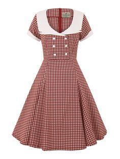 Dora Gingham Doll Dress 0