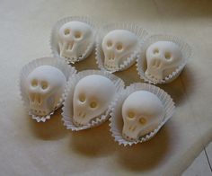Paintable sugar skulls you can decorate