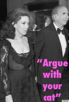 Helen Gurley Brown's secret to a harmonious relationship