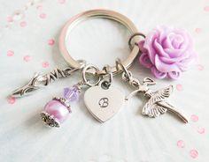 Personalized sweet ballet keychain. Just openend a new shop on Dawanda :) #ballet,#kids #keychain #personalized #girls #gifts