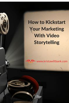 How to Kickstart Your Marketing With Video Storytelling Learn how to make video marketing even more powerful by transforming it into video storytelling. What elements are important to telling your story? Marketing Online, Marketing Software, Digital Marketing Services, Inbound Marketing, Business Marketing, Content Marketing, Internet Marketing, Social Media Marketing, Affiliate Marketing