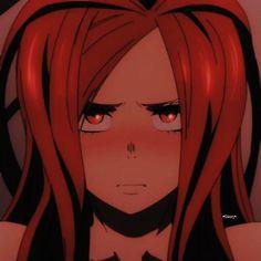 Cute Anime Pics, Anime Girl Cute, Anime Art Girl, Manga Art, Manga Anime, Red Aesthetic, Aesthetic Anime, Aesthetic Shoes, Cute Animal Drawings Kawaii
