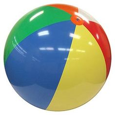 8-FT Deflated Size Multicolor Beach Ball Computer Troubleshooting, Initial Sounds, Beach Ball, Childhood Toys, Sweet Memories, Essie, Nostalgia, Retro 2, Beach Party